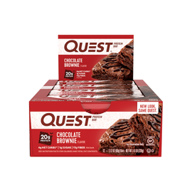 Quest Nutrition Protein Bars Chocolate Brownie 12x60g