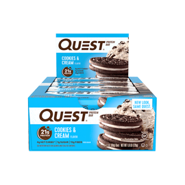 Quest Nutrition Protein Bars Cookies and Cream 12x60g