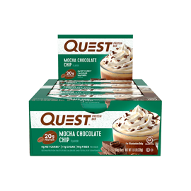 Quest Nutrition Protein Bars Mocha Chocolate Chip 12x60g