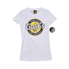 Golds Gym Bottle Cap Burnout Tee