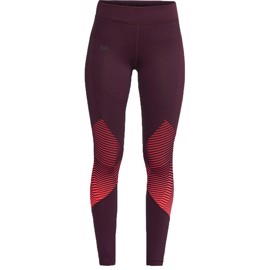 Under Armour Womans Reactor Leggings - Sort/Röd