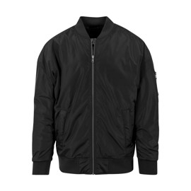 Urban Classics Oversized Bomber Jacket Black