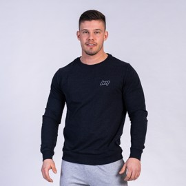 BM Sport Crew Neck Heather Black