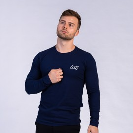 BM Shape Tee Long Sleeve Blue Navy