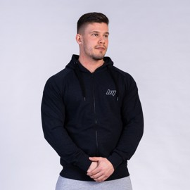 BM Sport Hooded Zip Sweat Heather Black