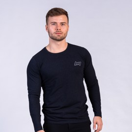 BM Shape Tee Long Sleeve Heather Black