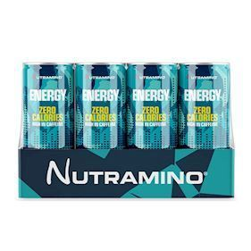 Nutramino Energy Drink 0 Calories - Workout - 250ml - 24 stk